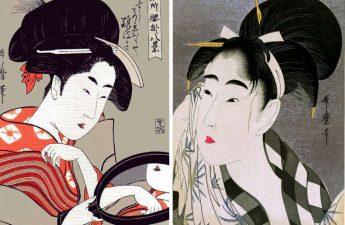 Sejarah Kecantikan Jepang Dengan Bibir Merah dan Wajah Putih